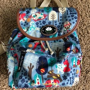 Lily Bloom Dog Backpack - like NEW!! 🐶💙